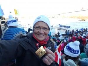 VM i Sibirien 2016: Mette BL Thomsen - her med bronze for 25 m bryst. Vandt tillige bronze i 25 & 200 m fri, samt sølv i 100 & 450 m fri.